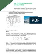 Systeme Constructif Poutres Poteaux