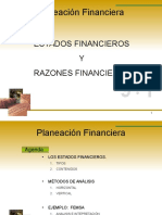 Analisis y Plan Financiera