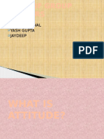 What is Attitude