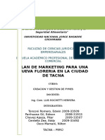 162327250 Plan de Marketing Floreria