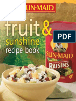 Fruit and Sunshine Recipe Booklet