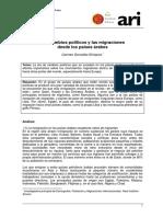 ARI60-2011 Gonzalez Enriquez Cambios Politicos Migracion Mundo Arabe