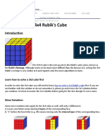 How to Solve a 4x4 Cube- The Rubik's Revenge