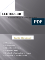 Lecture-14 Transmission Line and Feeder Protection