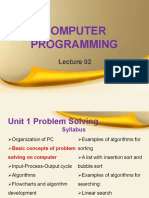 computer programming lecture 2