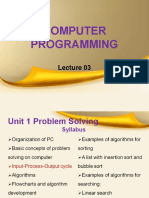 computer programming lecture 3