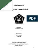 ABSES BARTHOLINI