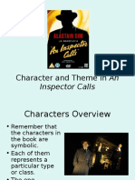 Character and Theme in Inspector Calls