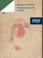 Desenmascarar Lo Real [Serge Leclaire]