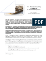 Call for Partners - ForA