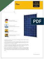 SolarWorld Sunmodule Plus SW260 Poly-En