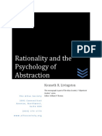 Aa Rationality and Psychology of Abstraction