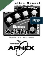 Aphex XCITER PEDAL 1400 series user manual.pdf