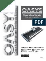 KORG OASYS Operations Guide v1 3 E5