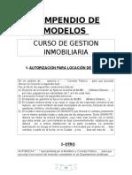 Manual de Modelos de Contrtos Inmobiliarios