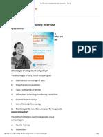 Top 40 Cloud Computing Interview Questions _ - Part 2
