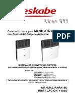 Manual Linea Ttb Miniconvex Rev001