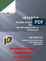 INTERFIS. BD00. Sistematizacion de Paginas Web. 2010