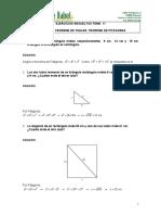 Ejercicios-resueltos- Semejanzas de Triangulos