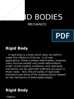 Mechanics - Rigid Bodies