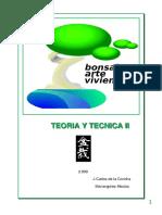 El Bonsai Arte Viviente Teoria y Tecnica II - Jc