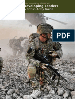 Developing Leaders - A British Army Guide