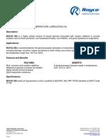 Royco 363 Datasheet