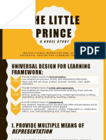 goal 22- udl modifications for the little prince