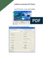 Setare Profil in Cnx FWT - Tel Cu HSDPA 7.2