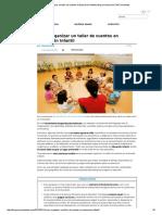 Cómo Organizar Un Taller de Cuentos en Educación Infantil _ Blog de Educación _ SMConectados