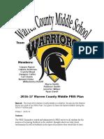 wcms pbis plan 16-17