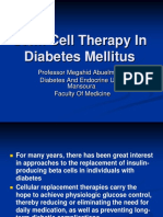 Stem Cells for the Treatment of Diabetes Mellitus