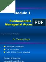 MA 1.1-Fundamentals of Managerial Accounting