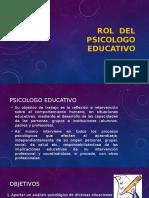 Rol Del Psicologo Educativo