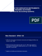 Fas133 FASB Derivatives Hedge Accounting Rules