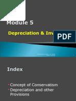 Module 5.1 Depreciation & Inventory 11.11.2011