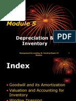 Module 5.2 Depreciation & Inventory 11.11.2011