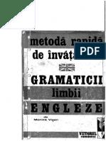 Monica Vișan-Metodă Rapidă de Învățare a Gramaticii Limbii Engleze