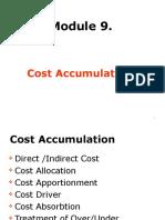 Module 9. Cost Accumulation 12.11.2012
