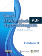 Fascículo Dificuldades de Aprendizagem Unidade 2