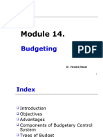 Module 14. Budgeting 11.10 .ppt