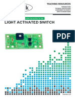 2112 Light Activated Switch Teaching Notes 2 0