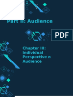 Chapter III Individual Perspective on Audience