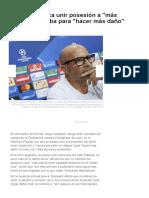 Sampaoli Busca Unir Posesión a _más Precisión_ Arriba Para _hacer Más Daño_ _ Deportes _ Agencia EFE
