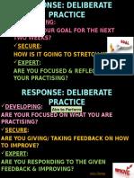 SIR Deliberate Practice