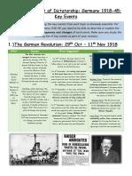 Germany 1918-45 IGCSE History