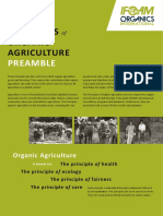 PRINCIPLES of ORGANIC AGRICULTURE PREAMBLE