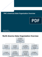 3 FMC's Americas Sales Organization Overview