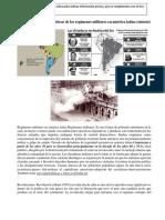 Temas Multiples sobre sucesos del Salvador, regimenes militares, procesos de democratizacion y derechos
