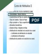 Hidraulica II-01b Generalidades y Reseña Historica